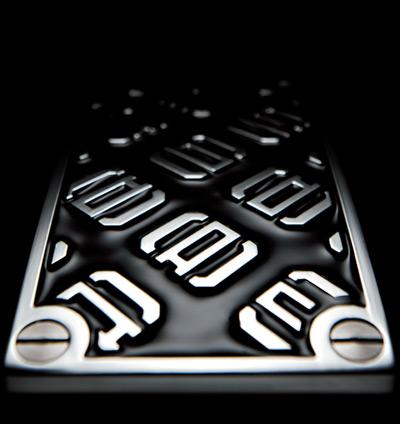 ギャルソンDADペダル ラグジュアリーペダル タイプモノグラム ホワイト RCP6yvYIb7fgm