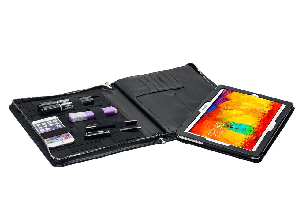プレミアムシステムファイル多機能フォルダー レターサイズ[LTR] パッドフォリオ Microsoft Surface Pro 3 / Surface Pro 4用