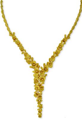 純金 24K PRIMAGOLD プリマゴールド 【送料無料】 【フローラルハーモニー】 【ネックレス】 【FLORAL HARMONY】 24金 ゴールド