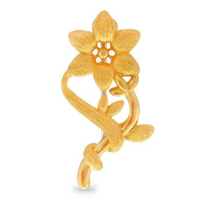 純金 24K スターライト ペンダント ブローチ レディース 女性 イエローゴールド プレゼント 誕生日 贈物 24金 ジュエリー アクセサリー ブランド プリマゴールド PRIMAGOLD K24 送料無料