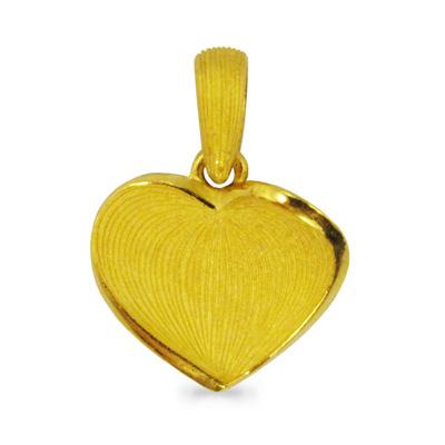 純金 24K 愛のシンボル ハート ペンダント レディース 女性 イエローゴールド プレゼント 誕生日 贈物 24金 ジュエリー アクセサリー ブランド プリマゴールド PRIMAゴールド K24 送料無料