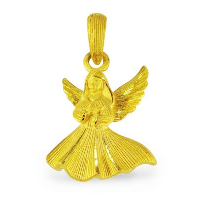 純金 24K リトルエンジェル ペンダント レディース 女性 イエローゴールド プレゼント 誕生日 贈物 24金 ジュエリー アクセサリー ブランド プリマゴールド PRIMAゴールド K24 送料無料