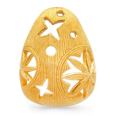 純金 ハッピーイースター egg 卵 ペンダント レディース 女性 イエローゴールド ギフト プレゼント 誕生日 贈物 24金 ジュエリー アクセサリー ブランド 品質保証 人気 プリマゴールド PRIMAGOLD K24 送料無料