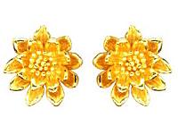 純金 24K ピアス 【送料無料】 【SIAM LOTUS(サイアムロータス)】 【ピアス】 【pierced earring】 PRIMAGOLD K24 24金 ゴールド