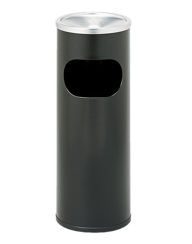 弘益 スモーキングスタンド(屑入れ付) φ230 600 ブラック DS-2 スモーキングスタンド(屑入れ付)