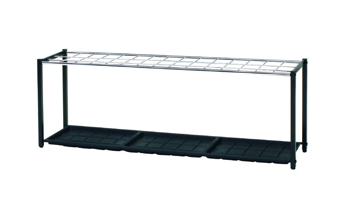 弘益 傘立て 幅1360 奥行300 500 ブラック K-102S 傘立て