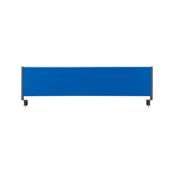林製作所 デスクトップパネル/オフィス用品 【スチールタイプ 幅140cm用】 ブルー YSP-S140BL