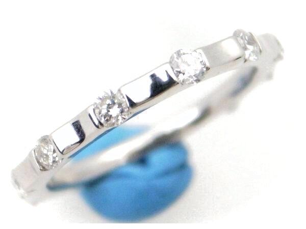 【中古】 ダイヤモンドリング Pt900(プラチナ 白金) 11.5号 指輪 質屋出品 【コンビニ受取対応商品】