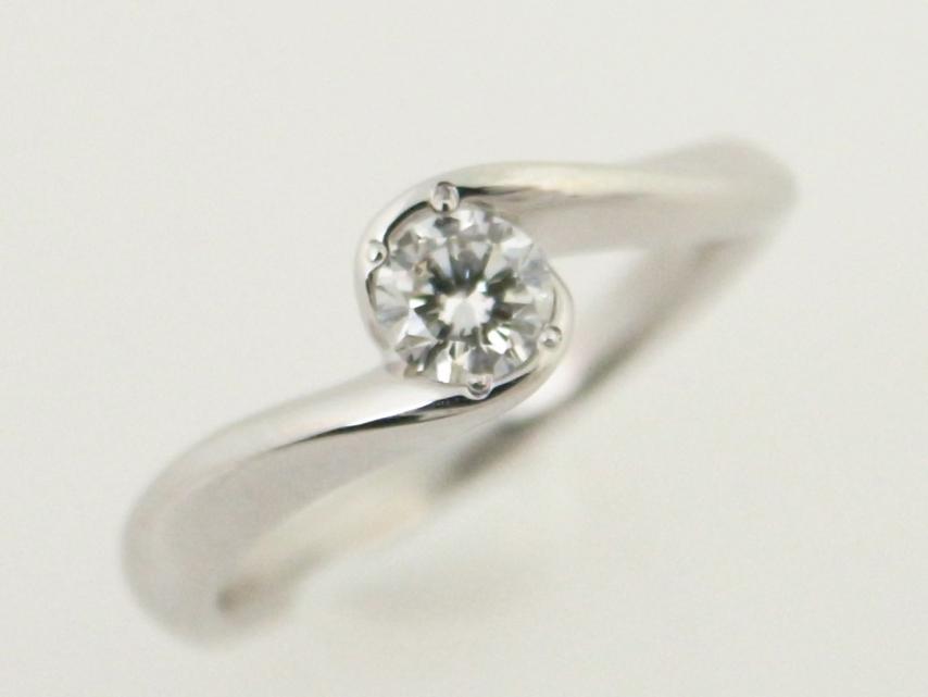 【中古】 4℃ ヨンドシー ダイヤモンドリング Pt950(プラチナ 白金) 指輪 0.173ct 質屋出品 【コンビニ受取対応商品】