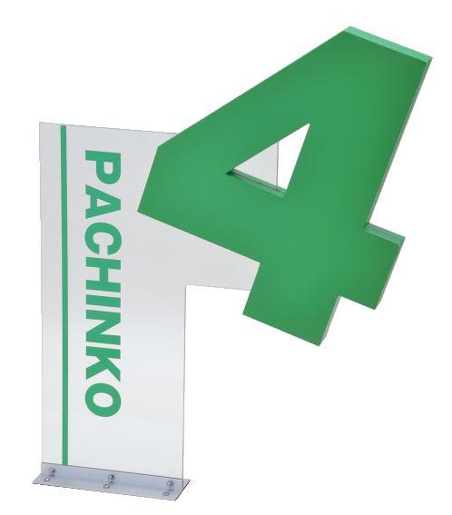オブジェゲート 4円 美品 1台 装飾 アピール パチンコ備品 送料無料 告知 全商品オープニング価格 オブジェ