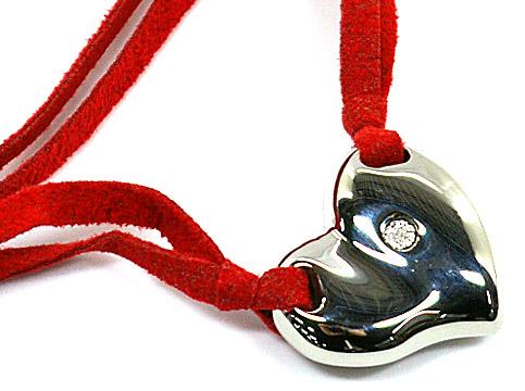 MORELLATO 5205モレラート アクセサリーハートシンボル ダイヤモンド ネックレスSOLITAIRE