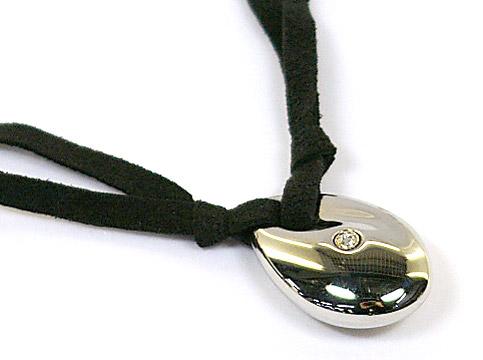 MORELLATO 5206モレラート アクセサリーアクアモチーフ ダイヤモンド ネックレスSOLITAIRE