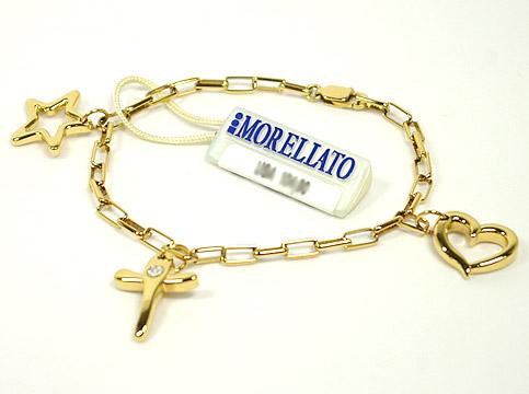 MORELLATO 8208モレラート アクセサリーモチーフ・ワンポントダイヤブレスレット