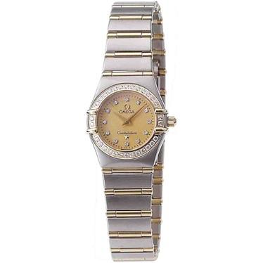 OMEGA CONSTELLTION 1267.15 オメガ腕時計 K18YG・シルバーベルト