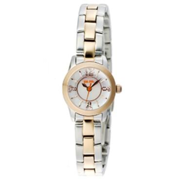 FOLLIFOLLIE WF0T025BPZフォリフォリ腕時計 シルバー・ゴールドステンレスベルト