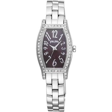FOLLIFOLLIE  WF8A026BPBフォリフォリ腕時計 シルバーステンレスベルト