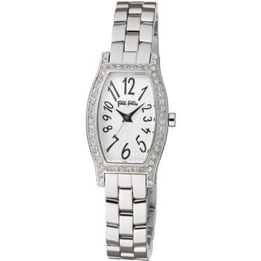 FOLLIFOLLIE WF8A026BPSフォリフォリ腕時計 シルバーステンレスベルト
