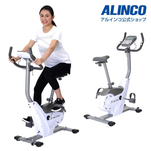 フィットネスバイク アルインコ直営店 ALINCO 基本送料無料 AFB6117 プログラムバイク6117 エアロマグネティックバイク スピンバイク バイク/bike ダイエット/健康 マグネットバイク