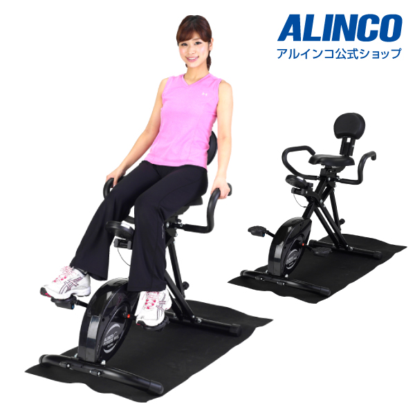 フィットネスバイク/アルインコ直営店 ALINCO基本送料無料BK2000 3WAYバイク負荷8段階調節 バイク/bike ダイエット/健康 フィットネス 健康器具 足 脂肪燃焼 エクササイズバイク