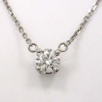 プラチナ ダイヤモンド 0.25カラットペンダント ネックレス typeAA送料無料