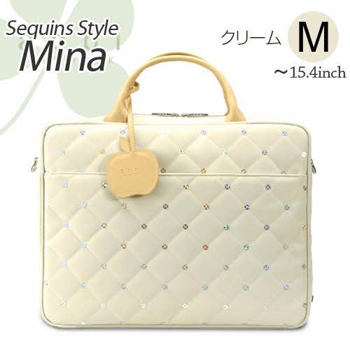 PC 가방 MINA ☆ Cream (미 나 ☆ 크림) M (~ 15inch) A4L 크기 B1501C