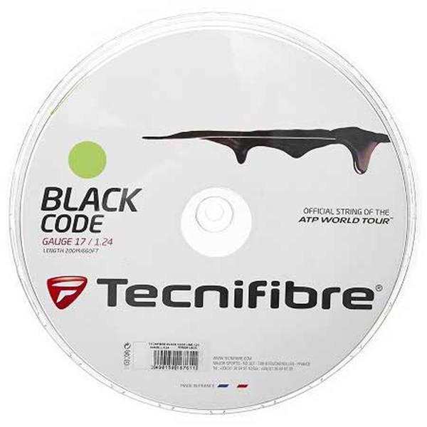 [ガット]テクニファイバー ブラックコード ライム(200mロールガット)(04rblli)