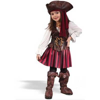 プレゼント 衣装 キッズ 女海賊 幼児用ハロウィンコスプレ衣装