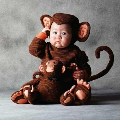 ハロウィン 衣装 コスチューム トム・アーマ おさるさん 赤ちゃん用 コスチュームハロウィン 衣装・コスチューム