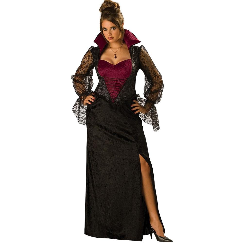 プレゼント パーティドレス 大きいサイズ バンパイア ドラキュラ 吸血鬼