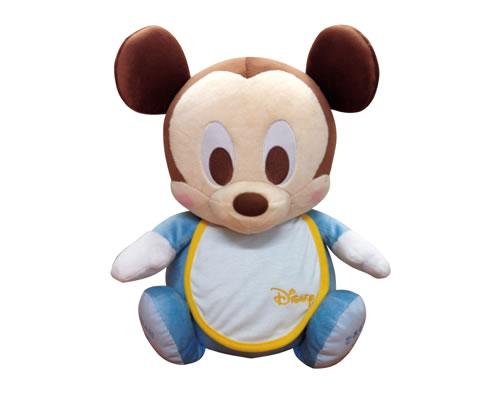 【Disney】ディズニーのウェイトドール ベビーミッキー(ディズニースタイ)