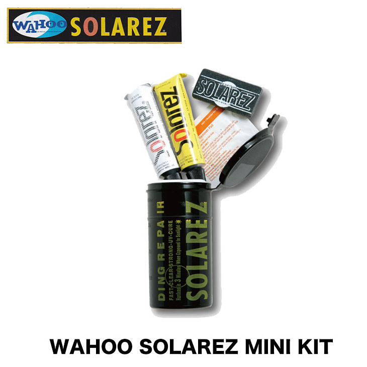 WAHOO SOLAREZ MINI KIT solar lesbian mini-kit surfboard repair surfing