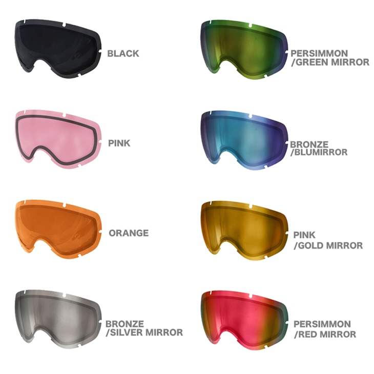 Poc Pox Pair Lens Goggles Lobes Lens Lobs Interchangeable Lens