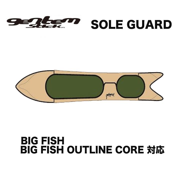 GENTEMSTICK ゲンテンスティック SOLE GUARD ソールガード ソールカバー スノーボード SNOWBOARD BIG FISH/BIG FISH OUTLINE CORE対応 【正規品】【送料無料】
