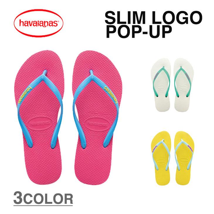73a228d47 Aila  HAVAIANAS flip flops Havaianas SLIM LOGO POP-UP slim logo pop ...