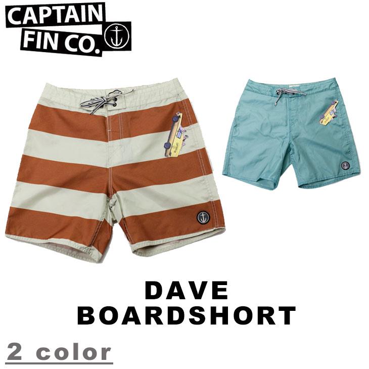 CAPTAIN FIN CO. キャプテンフィン DAVE BOARDSHORT メンズ ボードショーツ サーフパンツ 水着 海パン