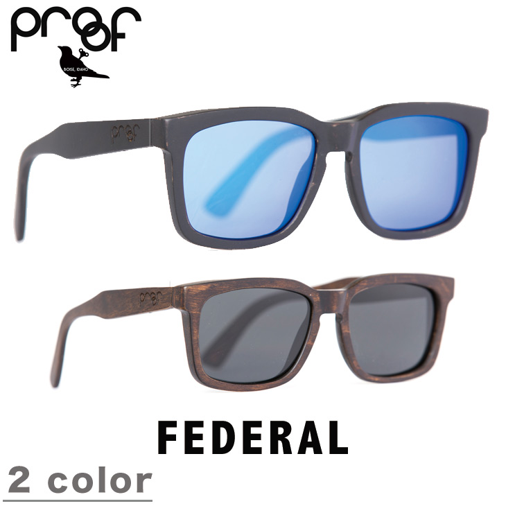 5e9d71960db PROOF EYEWEAR proof eyewear FEDERAL sunglasses THE WOOD COLLECTION Wood  collection