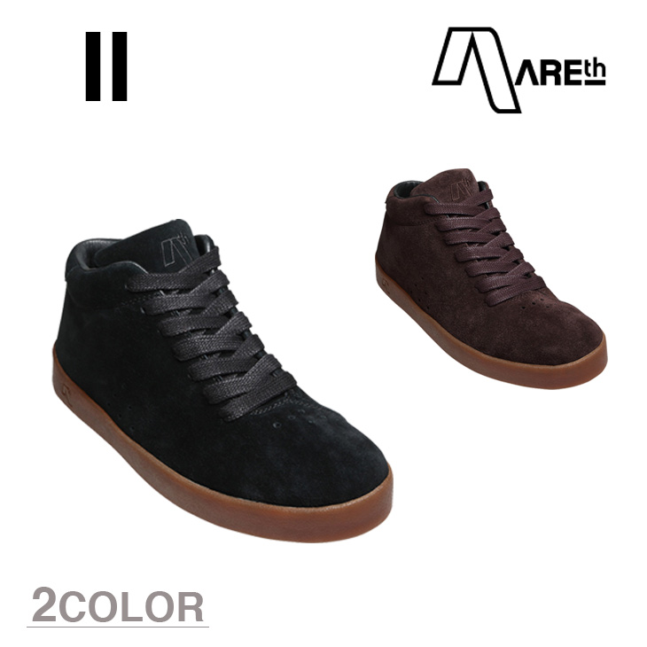 AREth スニーカー 靴 II アース ツー 2016モデル 各2色 23.5-29.0cm 【正規品】【送料無料】 areth