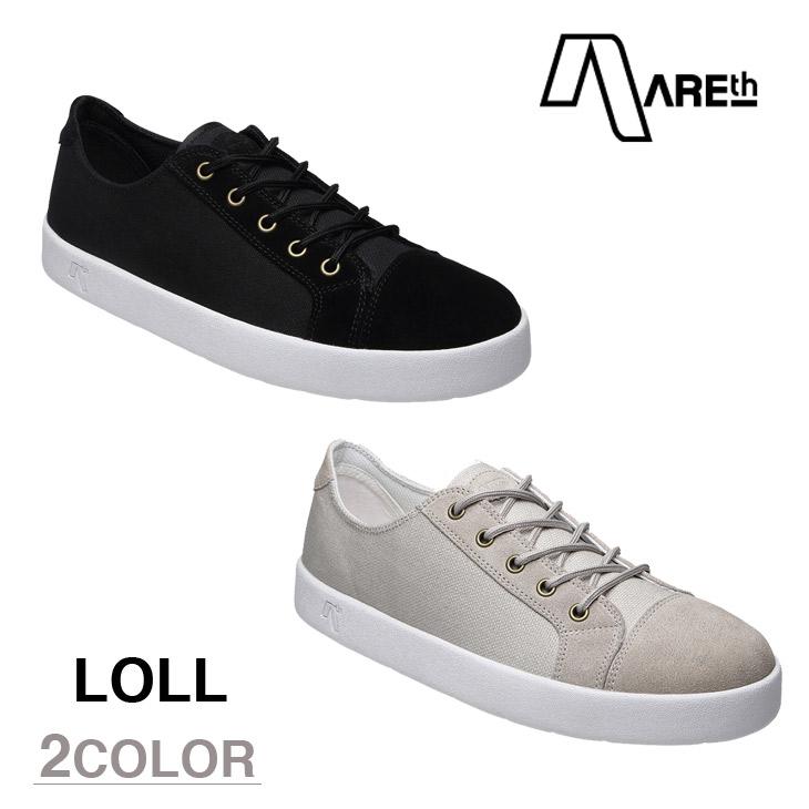 AREth スニーカー 靴 LOLL アース 2016モデル 各2色 23.5-29.0cm 【正規品】【送料無料】 areth