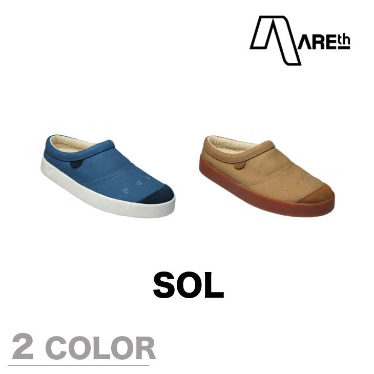 AREth スニーカー 靴 SOL アース 2017モデル 各2色 25.0-28.5cm 【正規品】 【予約】 areth