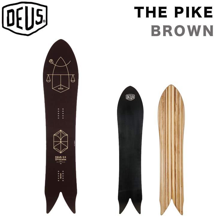 DEUS デウス 17-18 THE PIKE ザ パイク 153.5cm SNOW BOARD スノーボード DEUS EX MACHINA DEUS POWDER TOOLS