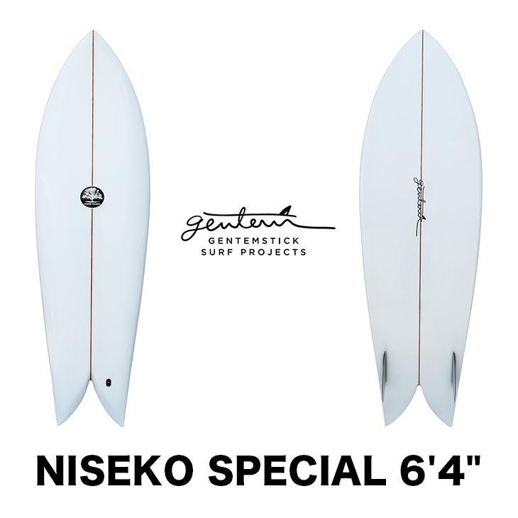 【4/1~8までフラッシュクーポン発行中】 GENTEMSTICK SURF PROJECT ゲンテンスティック サーフボード NISEKO SPECIAL MICK MACKIE 6'4