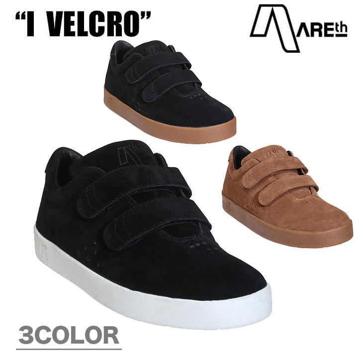 AREth アース スニーカー靴 I VELCRO ワン ベルクロ 2017FWモデル 各3色 23.5-28.5cm