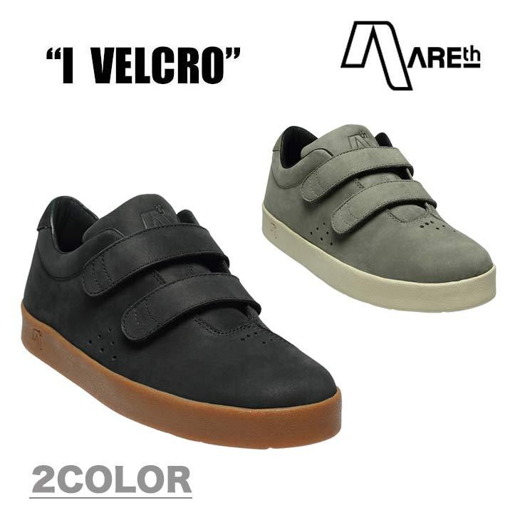 AREth アース スニーカー 靴 I VELCRO ワン ベルクロ 2018モデル 各2色 23.5-29.0cm