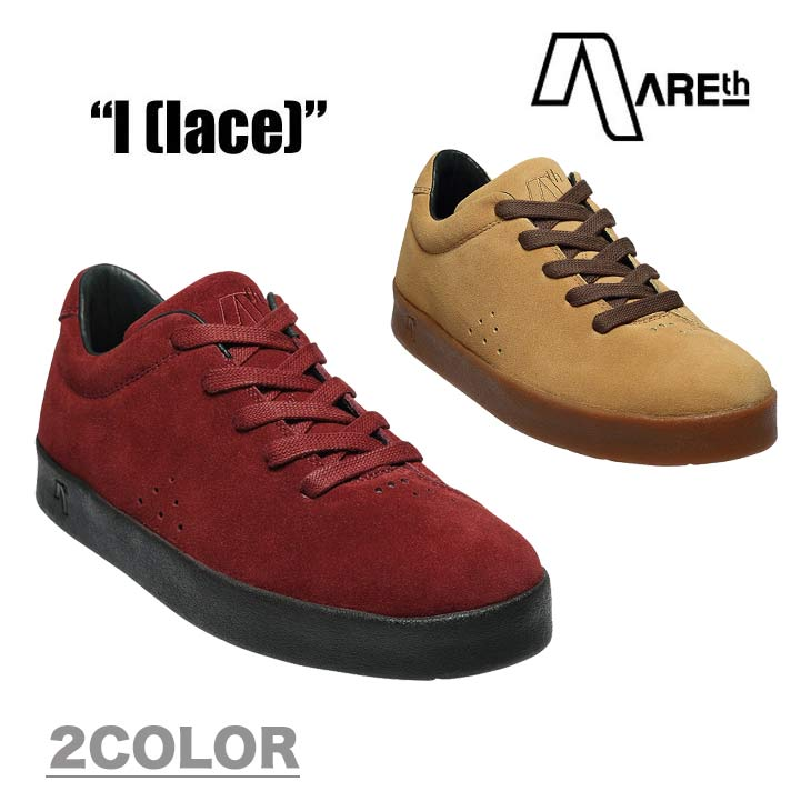 AREth アース スニーカー 靴 I LACE ワン レース 2018モデル 各3色 23.5-29.0cm