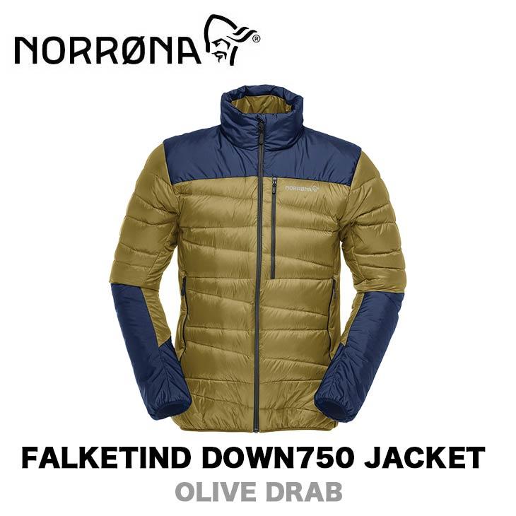NORRONA ノローナ FALKETIND DOWN750 JACKET メンズ フォルケティン ダウン750 ジャケット