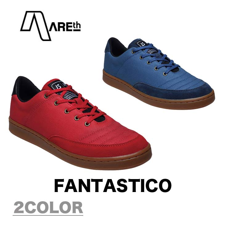 AREth アース スニーカー 靴 FANTASTICO ファンタスティコ 2018モデル 各2色 23.5-29.0cm
