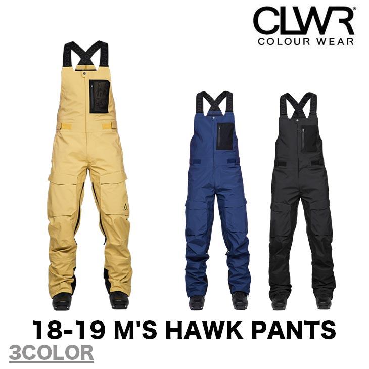 COLOUR WEAR カラー ウェア 18-19 M'S HAWK PANTS スノーボード ウエア ウェアー CLWR