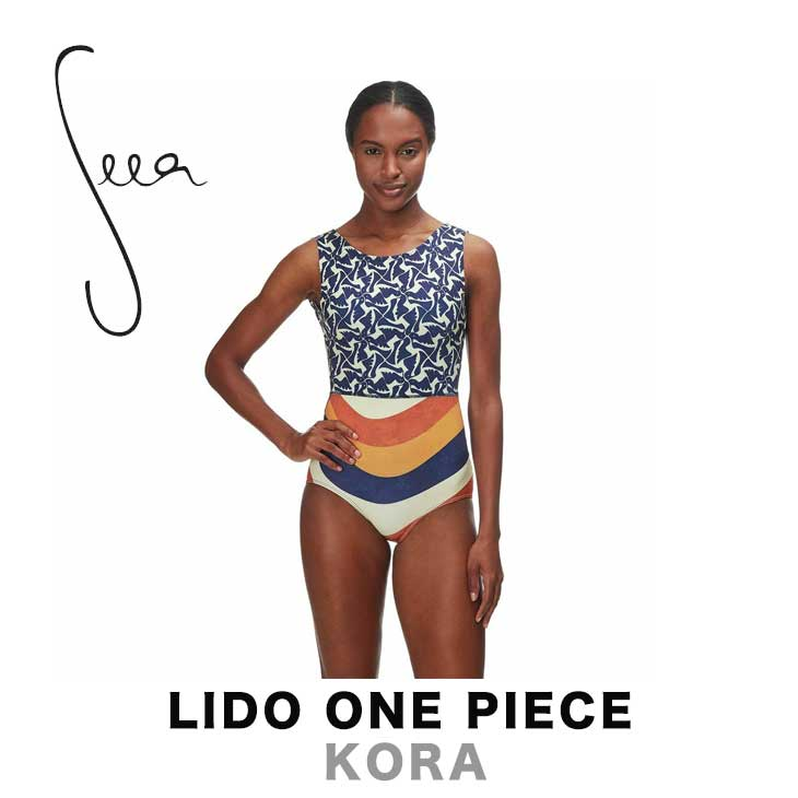 SEEA シーア LIDO ONE PIECE - KORA レディース 水着 スイムウェア ワンピース