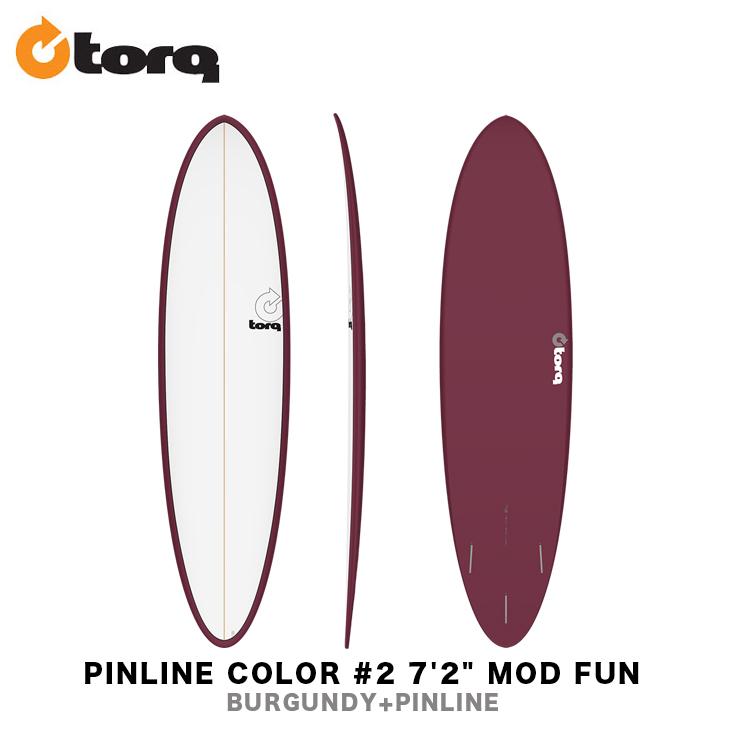 TORQ SURFBOARDS トルク サーフボード PINLINE COLOR #2 7'2