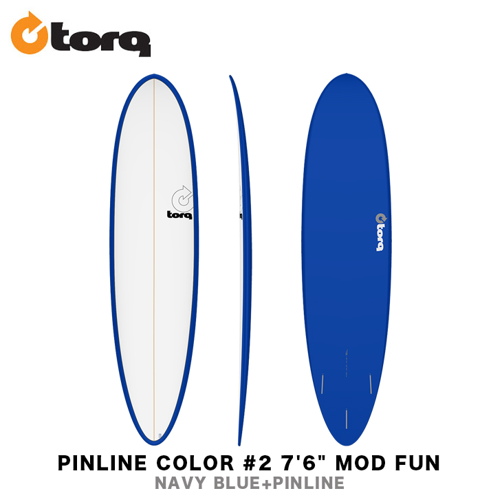 TORQ SURFBOARDS トルク サーフボード PINLINE COLOR #2 7'6